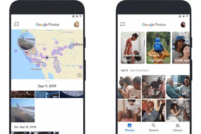 Google Photos 2020 redesign