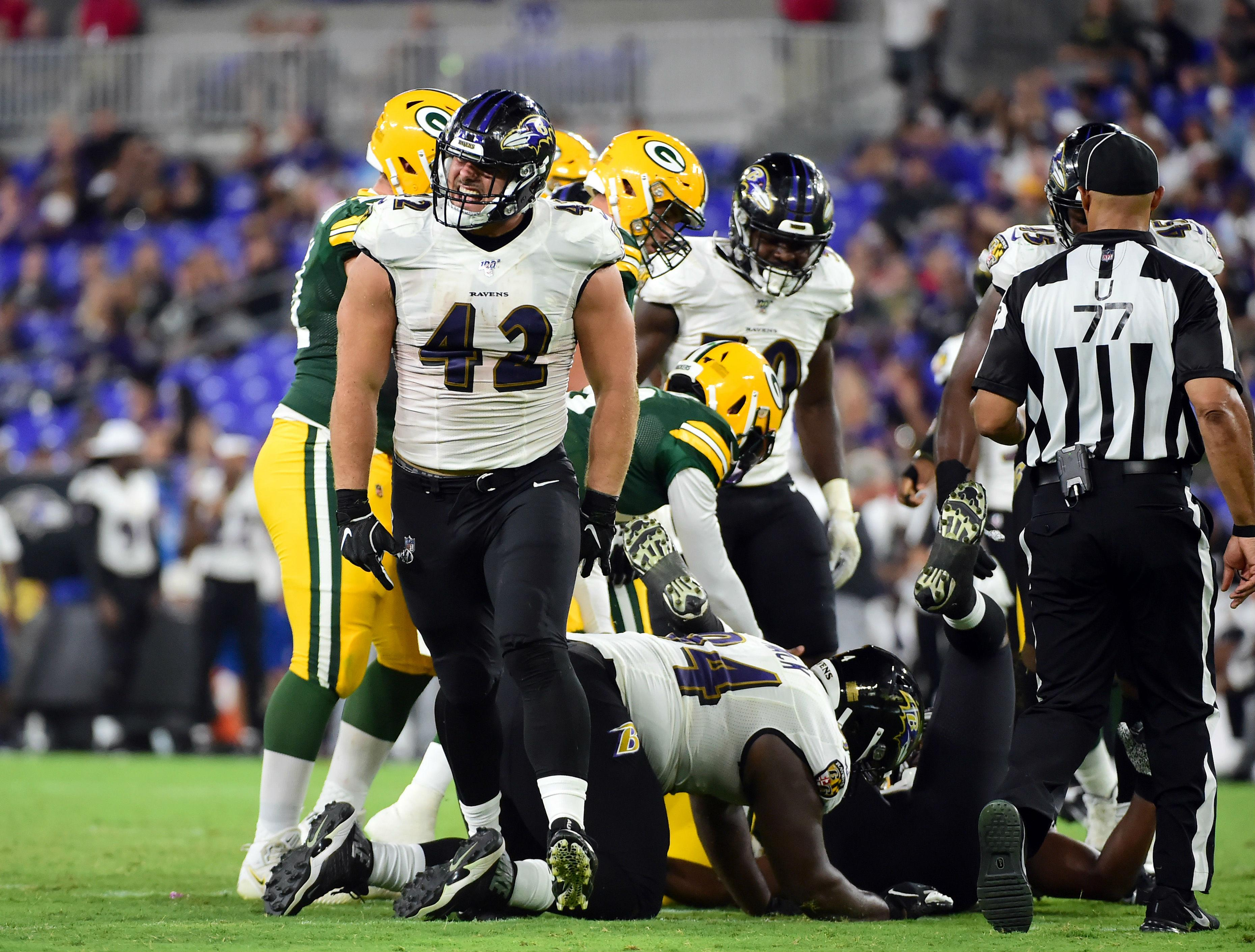Every team needs a Swiss Army Knife. The Ravens have Patrick Ricard