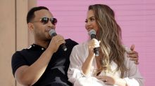 Chrissy Teigen reveals husband John Legend missed a flight to comfort her