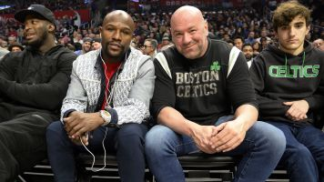 White hints at upcoming Mayweather fight