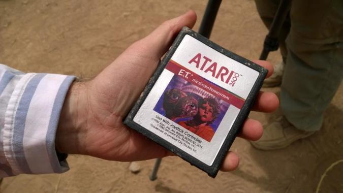 La leyenda era cierta: Encontrados los cartuchos de E.T.