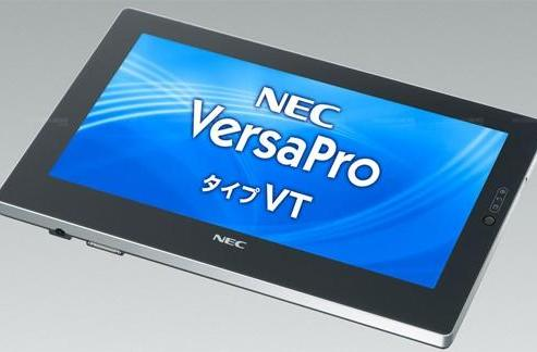NEC's VersaPro VK15V/TM-C looks like a tablet, runs like a netbook
