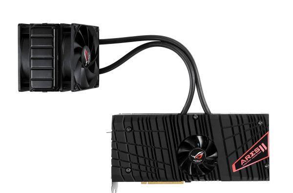 ASUS announces ROG Ares II video card, dual Radeon HD 7970 GPUs, 1050MHz clock speed
