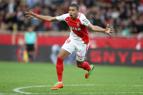 Monaco starlet Kylian Mbappe