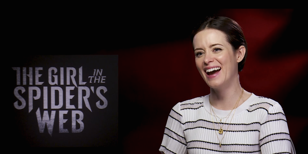 Claire Foy cut sex scenes from Dragon Tattoo sequel The Girl In The  Spider's Web [Video]