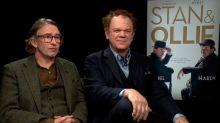 """John C. Reilly y Steven Coogan estrenan El gordo y el flaco: """"Es una película que levanta el espíritu"""""""