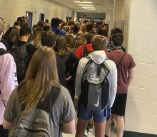 Coronavirus: Nine test positive at Georgia school where photo of crowded corridor went viral