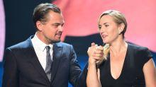 EN IMAGES - Kate Winslet et Leonardo DiCaprio, une complicité plus forte qu'une love story