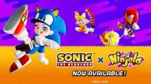 The Blue Blur Has Arrived! Ninjala and Sonic The Hedgehog Collaboration Begins Today