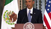 """Obama: U.S.-Mexico partnership can't get """"bogged down"""" by border debate"""