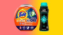 Make laundry day the best day! Tide is up to 35 percent off at Amazon, today only