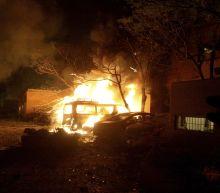 Bombing in hotel parking lot kills at least 4 in SW Pakistan