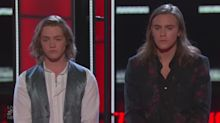 Heartthrobs' bromance comes to 'heartbreaking' end on 'The Voice'