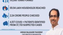 4,517 COVID positive patients identified from 37,733 suspected cases under Maharashtra's 'My Family My Responsibility' campaign
