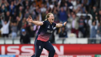 Anya Shrubsole in dreamland after seeing England to victory in Women's Cricket World Cup