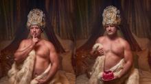 This Guy's 'Dudeoir' Photo Session Wins Wedding Presents