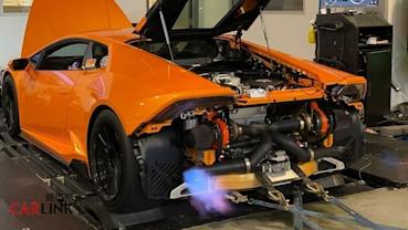 Lamborghini「小牛」變「神牛」!Huracan LP610-4「原廠引擎」雙渦改