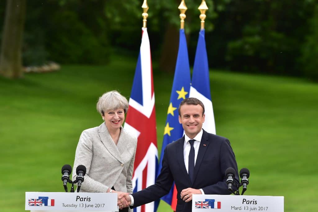 Macron says 'door always open' for UK to stay in EU