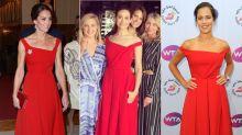 Fashion Battle: Herzogin Kate vs. Emmy Rossum vs. Ana Ivanovic