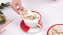 Buddy the Elf would approve of (and probably chug) this sugar cookie hot chocolate