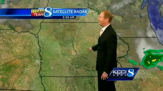 Video-Cast: 80s today, strong storms Friday