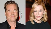 Down, Boy! Val Kilmer Unabashedly Creeps on Cate Blanchett