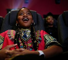 These Photos Of Black Kids Watching 'Black Panther' Highlight Why This Film Was Needed