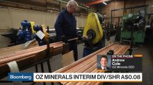 Oz Minerals CEO Says Copper Volatility to Be Short-Term