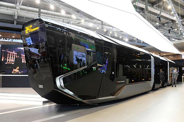 Russia's new tram is a Batmobile on the outside, tech hub on the inside | Engadget