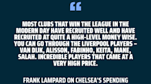 'I found it slightly amusing' - Chelsea boss Lampard laughs off Klopp taunt about Chelsea transfers