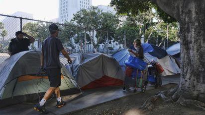 Who would firebomb homeless encampments?