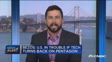 Bezos: Amazon to continue supporting Defense Dept.
