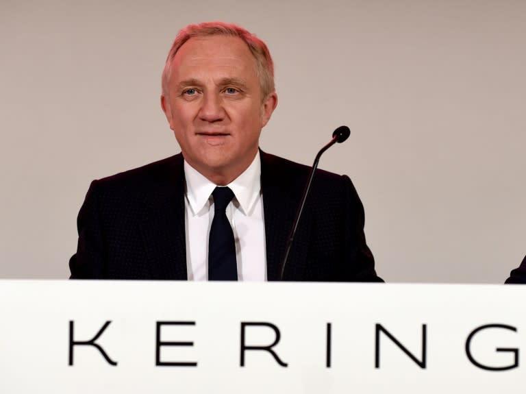 486c921499 Francois-Henri Pinault habla durante una junta general del grupo Kering, el  pasado 24 de abril en París