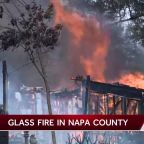 'It's getting worse and worse': Glass Fire burns through parts of Napa County