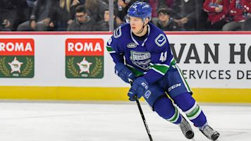 Canucks assign 2016 first-round pick Juolevi to AHL