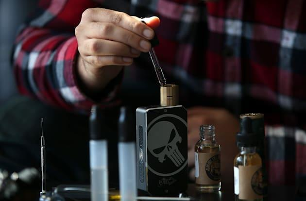 Some e-cigarette flavors may have toxic effects on lung cells