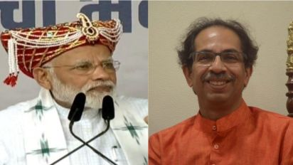 PM Narendra Modi Makes Veiled Attack on Uddhav Thackeray Over Ram Mandir Issue Amid Seat Sharing Tussle Between Shiv Sena And BJP
