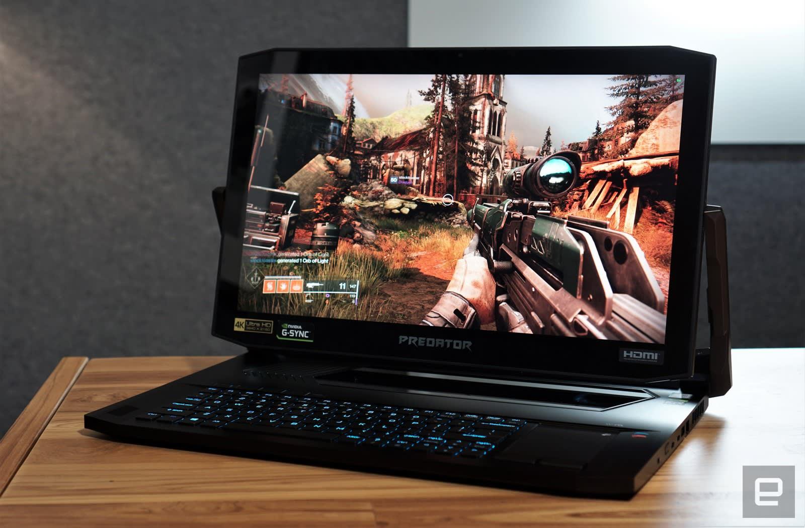 Acer Predator Triton 900 review: Who needs a crazy swiveling screen?