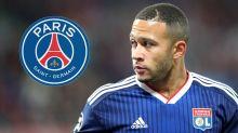 Bericht: PSG an Memphis Depay von Ligakonkurrent Olympique Lyon dran