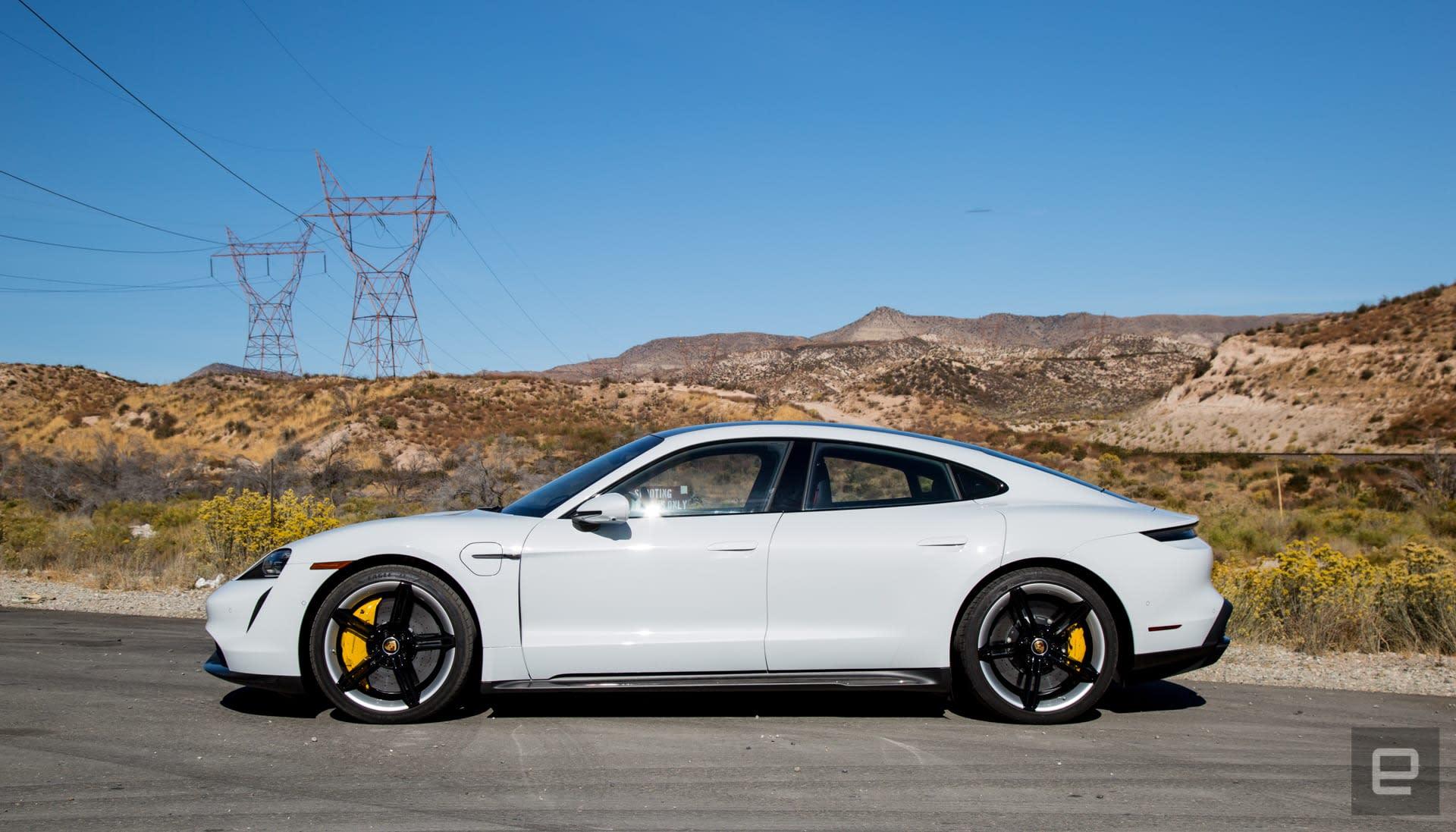 Porsche Taycan first drive