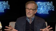 Is 'Ready Player One' the geekiest movie ever made? Steven Spielberg and cast weigh in.