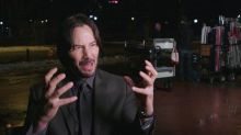 How Keanu Reeves Suffered for 'John Wick' (Exclusive Footage)