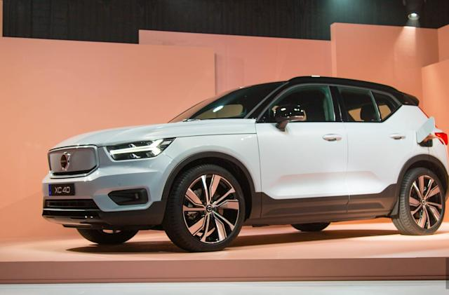 Volvo unveils the XC40 EV, its first full-electric vehicle