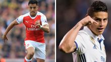 Gossip: Man City and Bayern 'battle for Alexis', Rodriguez 'could join Chelsea', Marseille 'target Ayew'