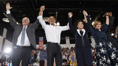 Obama rails against Republicans at Nevada rally