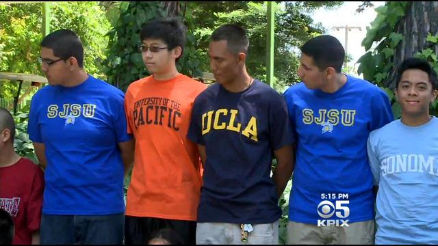 Graduating South Bay Teens Show Off Before Heading To College