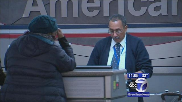 Travelers scramble to rebook after word of storm