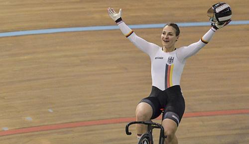 Radsport: Olympiasiegerin Vogel holt WM-Gold im Sprint