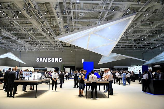 Live from Samsung's IFA 2019 press event!