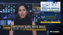 Intuitive Surgical beats on bottom line